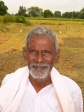 A gorgeous rice farmer who happily showed us how threshing of the rice was done